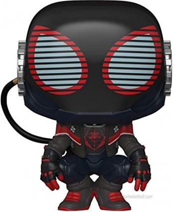 Funko Pop! Games: Marvel's Spider-Man: Miles Morales Miles 2020 Suit