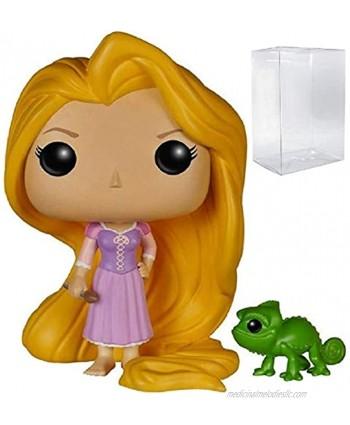 Funko Pop! Disney Princess: Tangled Rapunzel & Pascal Vinyl Figure Bundled with Pop Box Protector Case