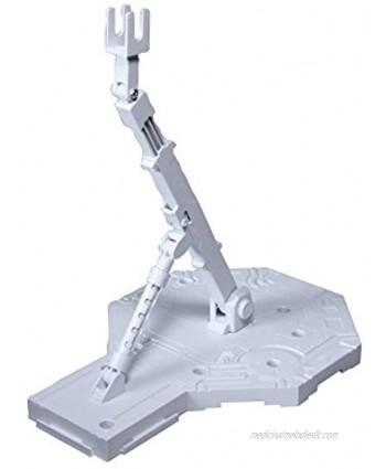 Bandai Hobby White Action Base1 Display Stand 1 100