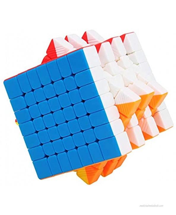 CuberSpeed YuXin Little Magic 7x7 stickerless Speed Cube 7x7x7 stickerless Magic Cube Puzzle