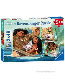 Ravensburger Disney Moana Born To Voyage 49 Piece Jigsaw Puzzle for Kids – Every Piece is Unique Pieces Fit Together Perfectly