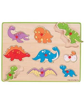 Bigjigs Toys Lift Out Puzzle Dinosaurs