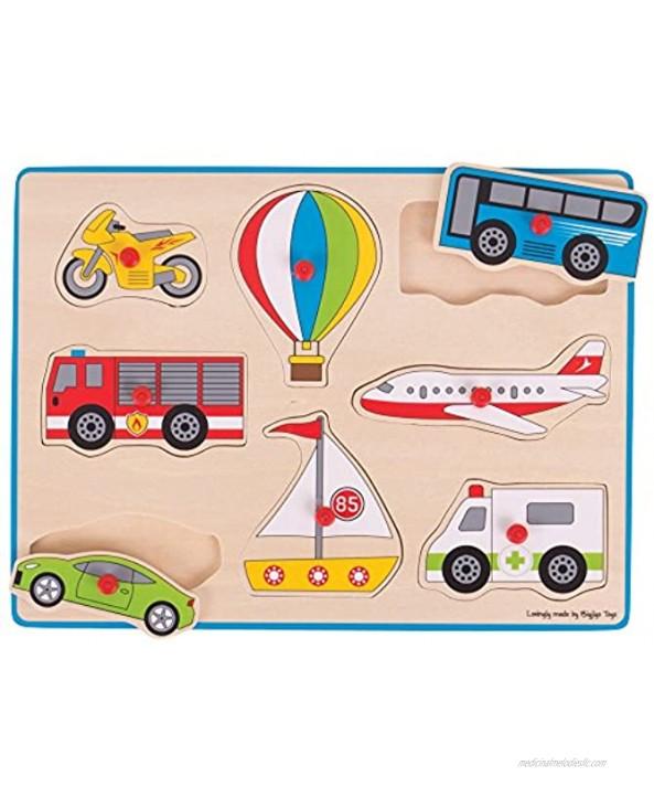 Bigjigs Toys Lift Out Puzzle Transport