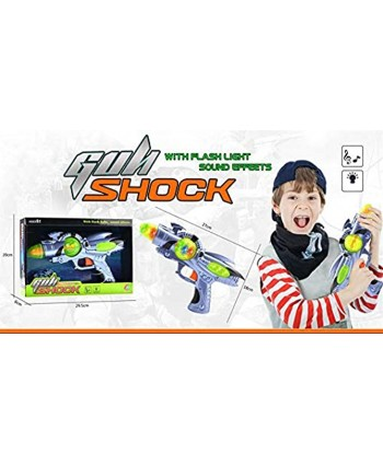 Galactic Space Infinity Blaster Pistol Toy Gun for Kids with Flashing Lights and Blasting FX Sounds Edition 1