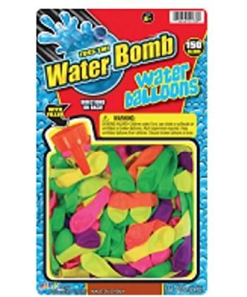 Toss'em Water Bomb Ballons & Filler Cap