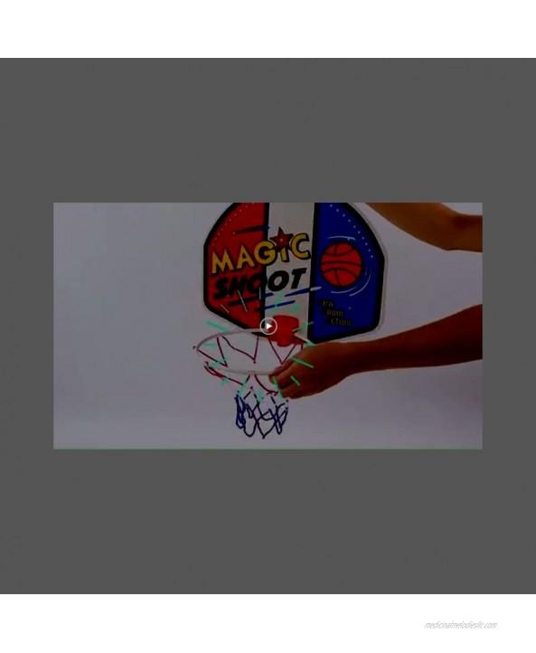 Liberty Imports Magic Shot Mini Basketball Hoop Set with Ball and Pump Single