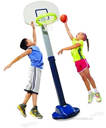 Little Tikes Adjust and Jam Pro Basketball Set Blue