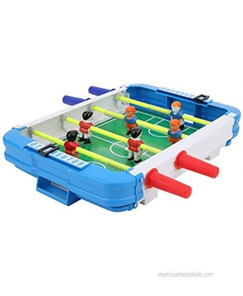 01 Desk Soccer Toy Children Table Football Toy Table Durable Children Desk Interactive Toy Portable Eco-Friendly for Children for Friends Party Home Droom