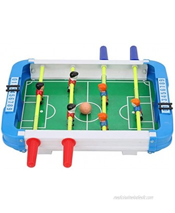 01 Desk Soccer Toy, Real Material Table Table Football Toy Eco-Friendly Droom for Children for Friends Party Home