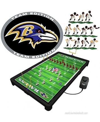 "Tudor Games Baltimore Ravens NFL Electric Football Game Multicolor 25.5 x 14.5 x 2"""