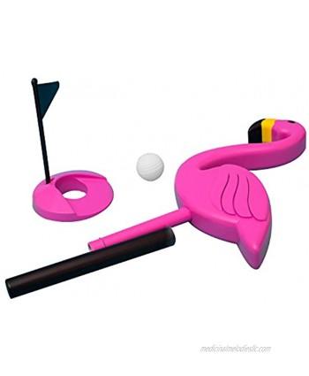 Thumbsup UK Flamingolf Toy Pink Standard
