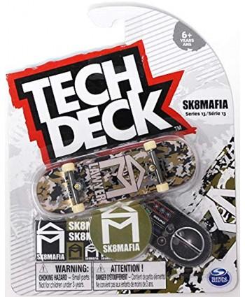 Mini Fingerboards Sk8mafia Skateboards Series 13 Stephen Lawyer Gold Camo Complete Deck