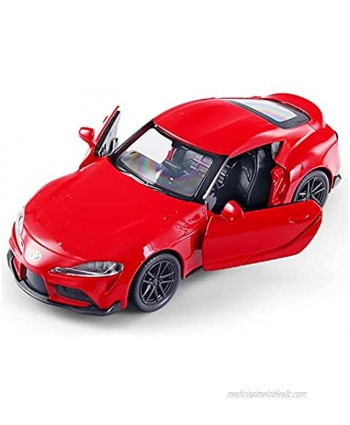 JYSMAM 1:36 Die-Casting Alloy Sports Car Model Pull Back for Adult Collection of Children's Toys Color : Red