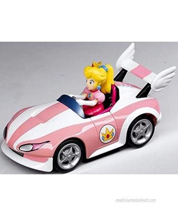 Mario Pull & Speed Peach Wild Wing Wii Mario Kart Pullback Car