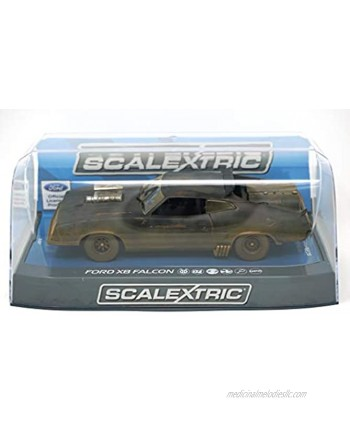 Scalextric C3983 Ford Xb Falcon Slot Race Car Weathered Matte Black