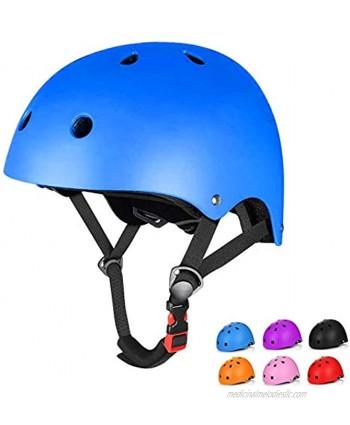 Kids Bike Helmet Toddler Helmet Adjustable Helmets for Kids 8-14 3-7 Years Old Adjustable Ventilation Multi-Sports Kids Skateboard Cycling Helmet Youth & Child Helmet