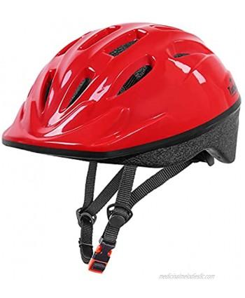 TurboSke Kids Bike Helmet Size Adjustable Toddler Multi-Sport Helmet for Bicycle Skateboard Roller Skating for Boys and Girls 3-5