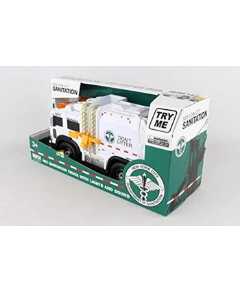 Daron NYC Sanitation Truck with Lights & Sounds 2019 New
