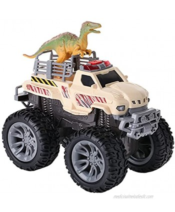 Dinosaur Transport Monster with Lights and Sounds Dino Truck Transporter Vehicle Toy Dinosaur Toys for Boys and Girls Ages 3+