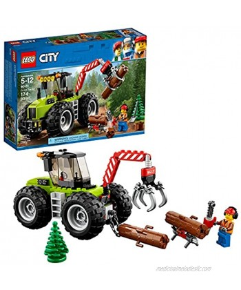 LEGO City Forest Tractor 60181 Building Kit 174 Pieces Discontinued by Manufacturer