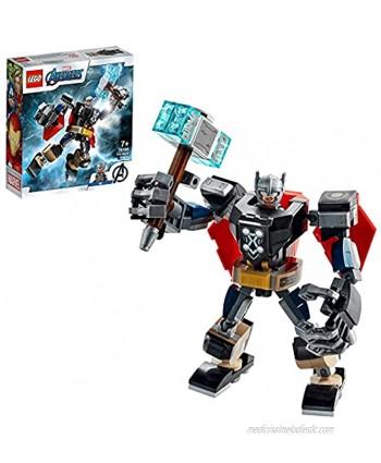 LEGO76169SuperHeroesMarvelAvengersThorMechArmourSet,ActionFigureToywithThorMinifigure