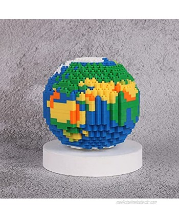 Uvini Mini Building Blocks Toy Best Gifts for Kids or Adult Christmas Birthday Gifts  The Earth 882 pcs
