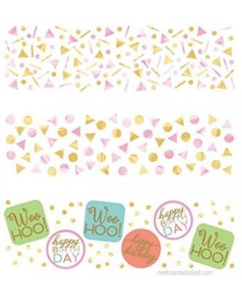 Amscan 361927 Confetti Confetti Fun Collection 1 pack Birthday