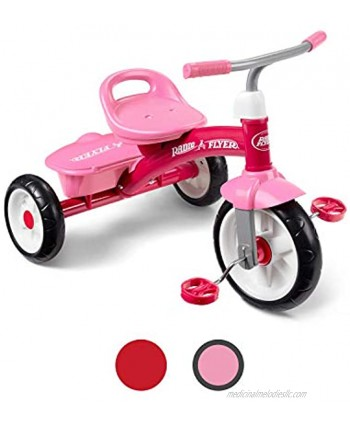 Radio Flyer Pink Rider Trike outdoor toddler tricycle ages 3-5  Exclusive