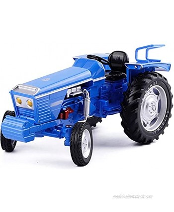 Nuoyazou Anti-Fall Children's Toy Car Alloy Tractor Toy 2 Colors Optional Metal Sliding Forward Farm Tractor Model Ornaments