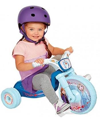 "Disney Frozen 2 Frozen 2 Fly Wheels 10"" Junior Cruiser Ride-On with Sound Effects Button! Ages 2-4"